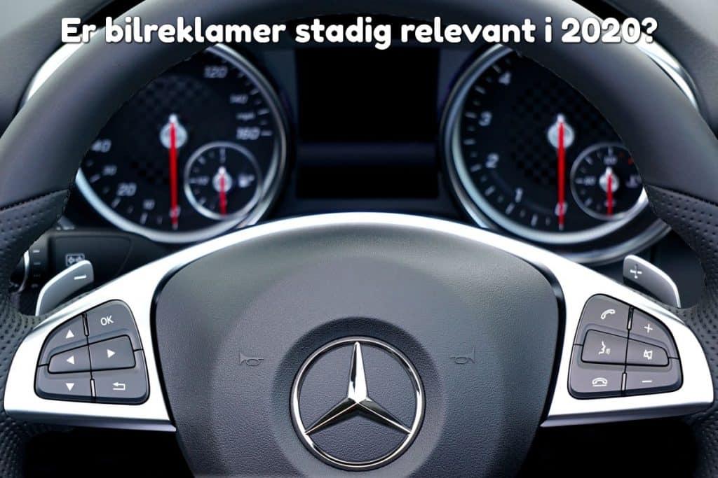Er bilreklamer stadig relevant i 2020?